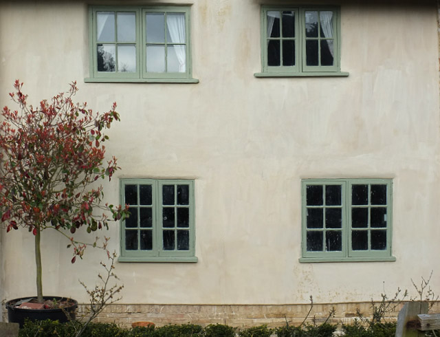 Lime plastering and rendering in Norfolk