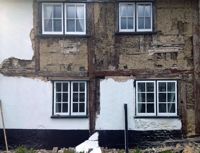 Listed Building repairs in Norfolk